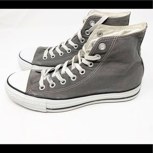 Converse Gray High Top Sneakers 1453